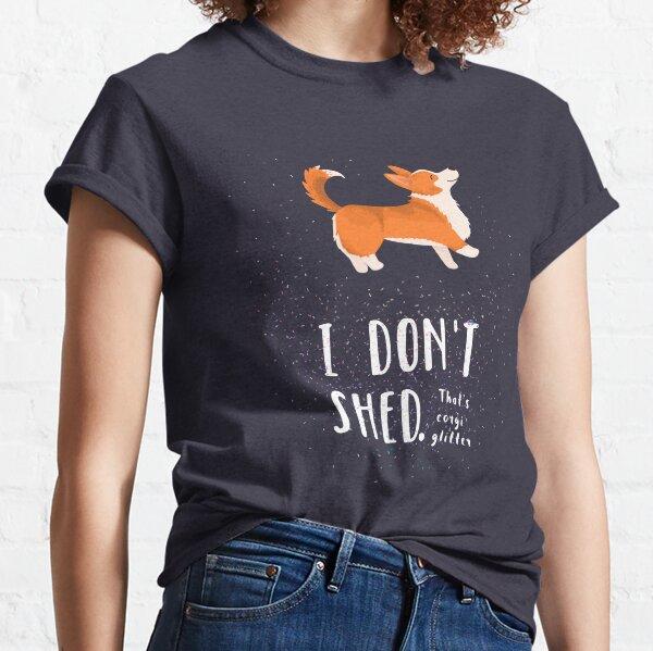 Corgi Glitter (Pembroke Welsh Corgi) Classic T-Shirt