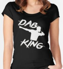 King DAB Women's Fitted Scoop T-Shirt