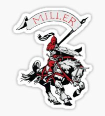 Miller Marauders Heritage Collection Sticker