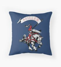 Miller Marauders Heritage Collection Throw Pillow