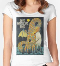 DMB Saratoga Performing Arts Center, Saratoga Springs, NEW YORK Women's Fitted Scoop T-Shirt