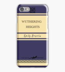 Wuthering Heights Retro Book Cover iPhone Case/Skin