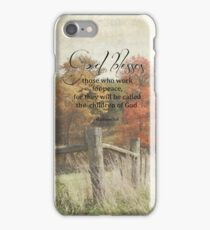 God blessses iPhone Case/Skin