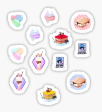 Pack pegatinas dulces Sticker