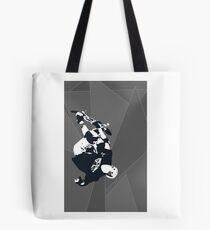 Patterned 540 Skater (gray scale) Tote Bag