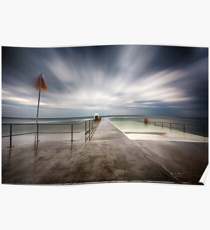 Merewether Baths Poster