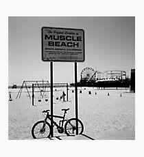 Muscle Beach, Santa Monica Photographic Print