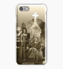 Ghostly Family and Their Beloved Pets iPhone Case/Skin