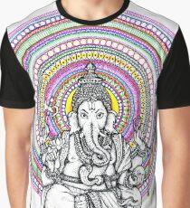 Elephant Shiva Graphic T-Shirt