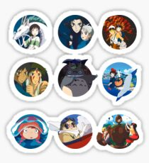 Studio ghibli movies (no filter) Sticker