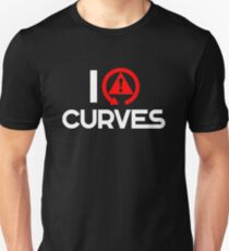 I love curves (6) Unisex T-Shirt