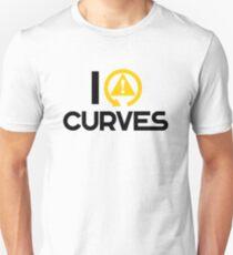 I love curves (7) Unisex T-Shirt