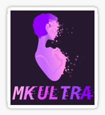 MK ULTRA Sticker