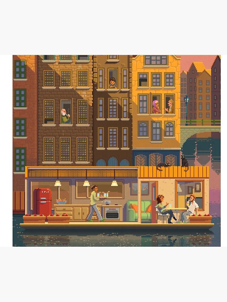 Scene # 38: 'The Boathouse' by pixelshuh