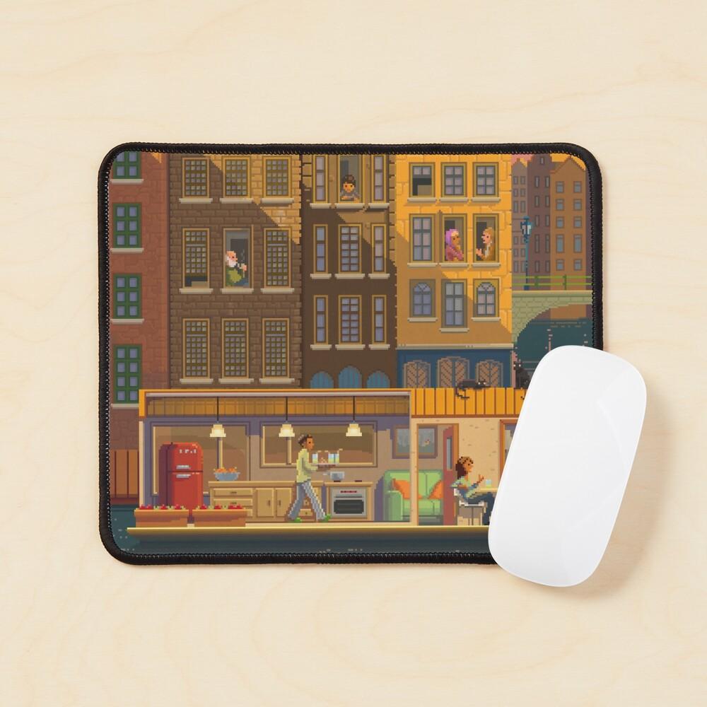 Scene # 38: 'The Boathouse' Mouse Pad