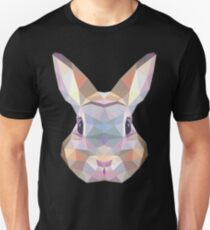 Polygonal Rabbit Unisex T-Shirt