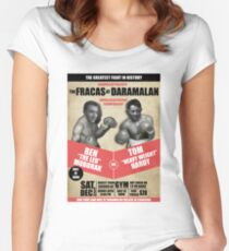THE FRACAS AT DARAMALAN Women's Fitted Scoop T-Shirt