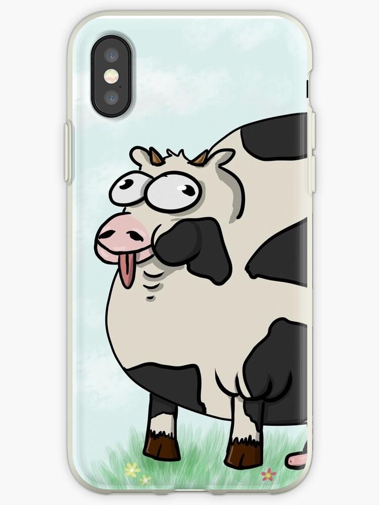 «Vaca gorda / sexy con fondo» de TheDinoKitten