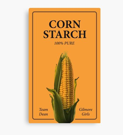 Rory's Corn Starch Canvas Print
