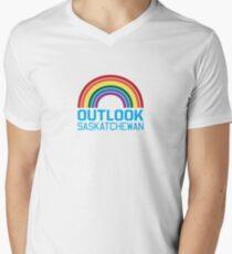 Outlook Rainbow Men's V-Neck T-Shirt