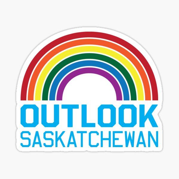 Outlook Rainbow Sticker
