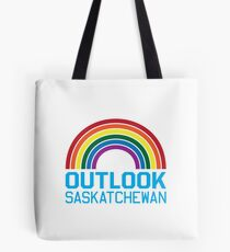 Outlook Rainbow Tote Bag