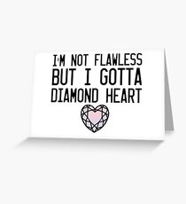 Diamond Heart Greeting Card