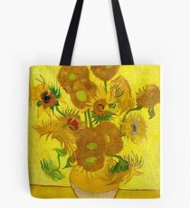 Sunflowers, Vincent van Gogh Tote Bag