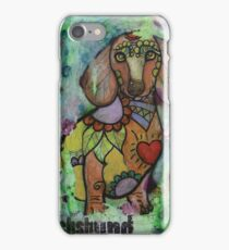 Dachshund Stylized iPhone Case/Skin