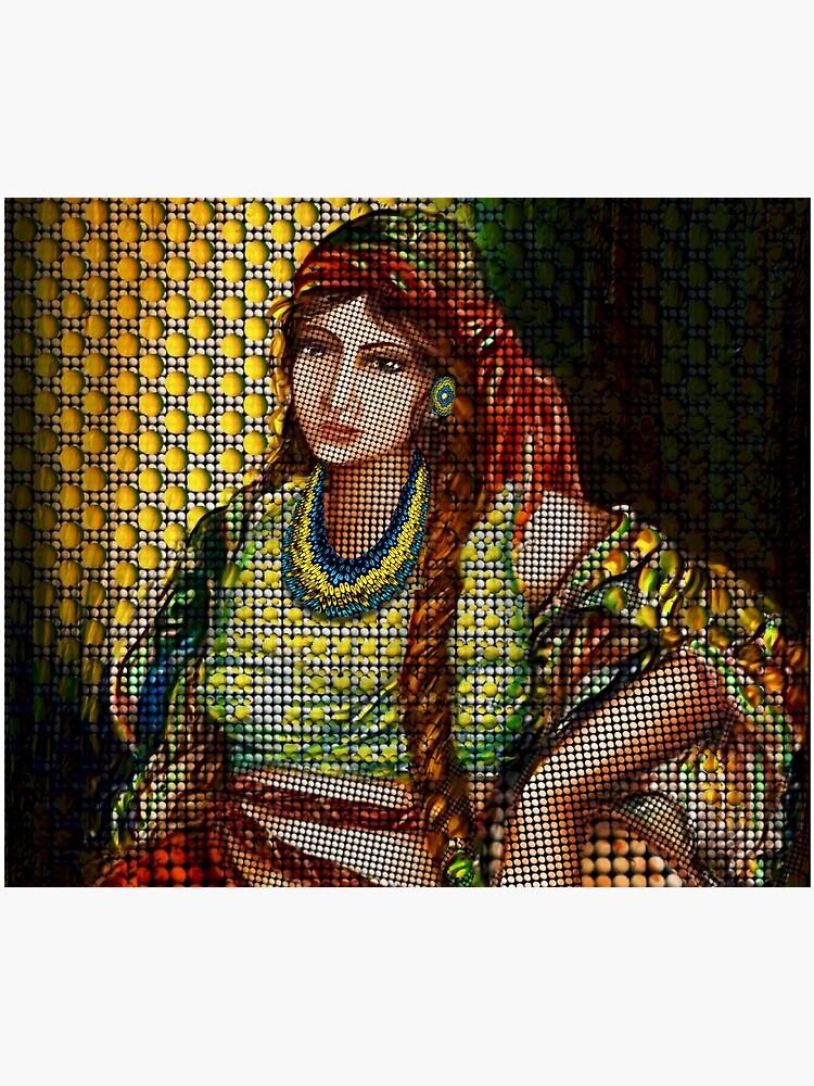 Arab Bedouin Woman by FanArtAddict