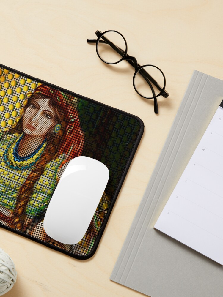 Alternate view of Arab Bedouin Woman Mouse Pad