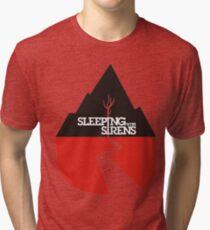 Sleeping With Sirens Logo Tri-blend T-Shirt