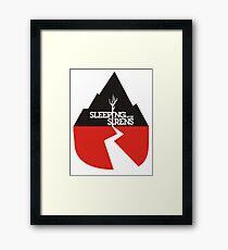 Sleeping With Sirens Logo Framed Print