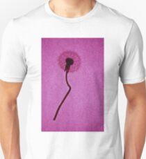 pink dandelion  Unisex T-Shirt