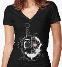 Ennard (Transparent) Women's Fitted V-Neck T-Shirt