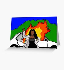 Waiting  2 Exhale Greeting Card
