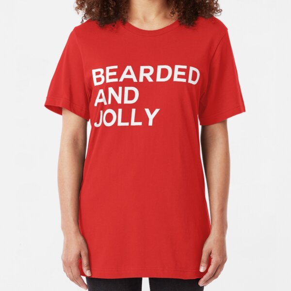 Bearded And Jolly Slim Fit T-Shirt