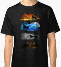 Warrior Cats: Four Elements, Four Clans Classic T-Shirt