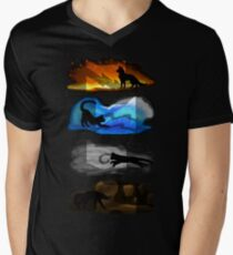 Warrior Cats: Four Elements, Four Clans T-Shirt