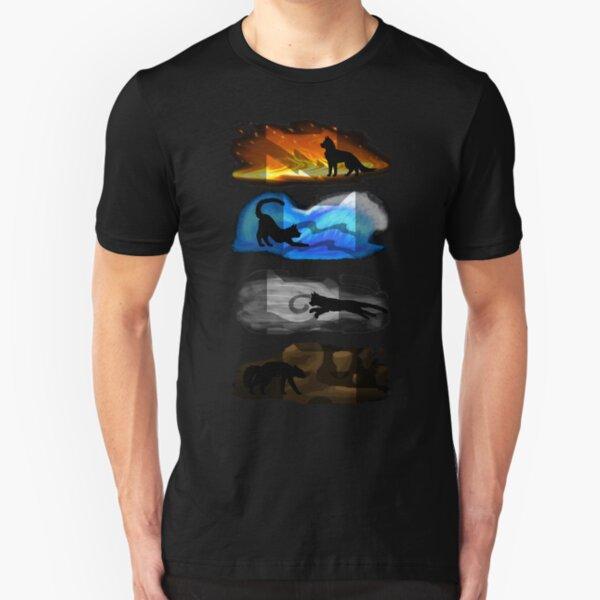 los cuatro clanes vivieron en armonía Camiseta ajustada