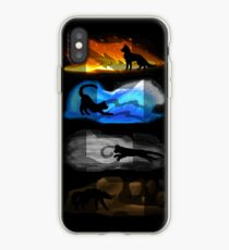 Warrior Cats: Four Elements, Four Clans iPhone Case