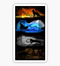 Warrior Cats: Four Elements, Four Clans Sticker
