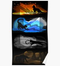 Warrior Cats: Four Elements, Four Clans Poster