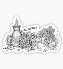 The Aroma Of Summer Morning Sticker