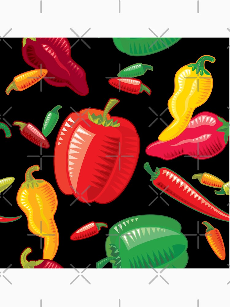 Hot Peppers by rusanovska