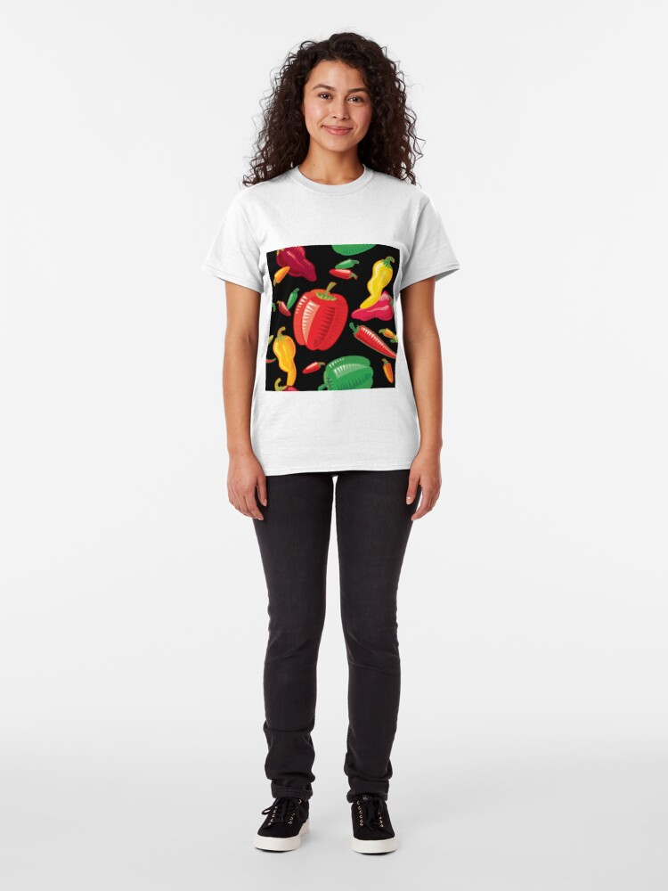 Alternate view of Hot Peppers Classic T-Shirt
