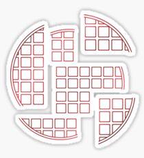 Stranger Waffles Sticker