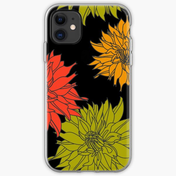 Dahlia iPhone Soft Case