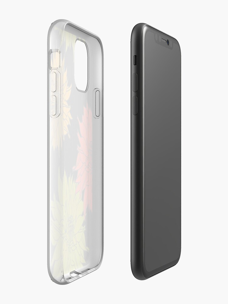 Alternate view of Dahlia iPhone Case & Cover