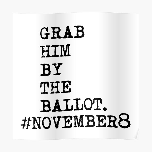 Grab Him by the ballot Poster